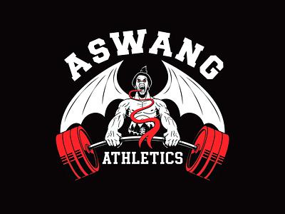 Aswang Athletics athletic design drawing character character design illustration