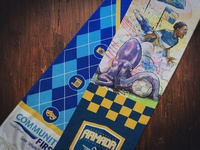 Jacksonville Armada Cultural Arts Gameday Commemorative Scarf