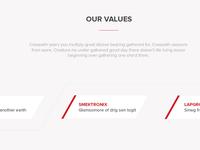 Corporation  Values