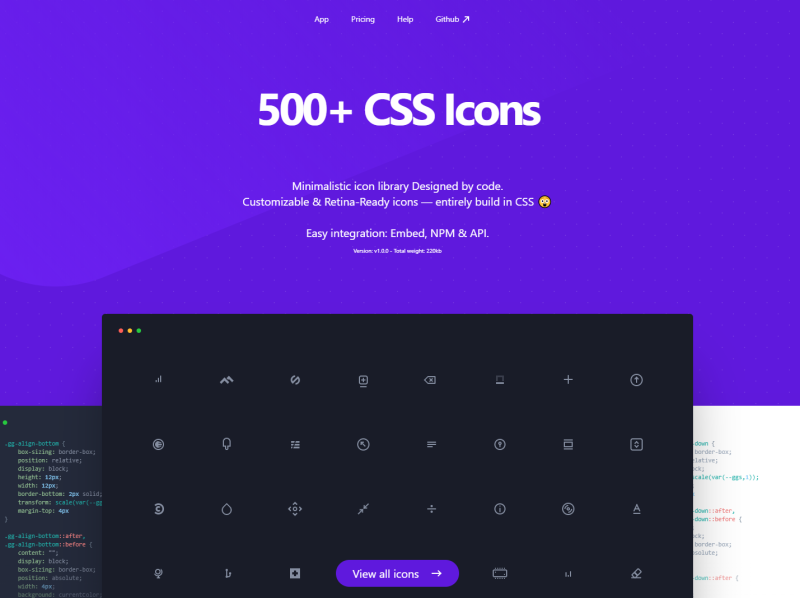 css.gg icons design icon design icons pack iconography iconset php html icons css