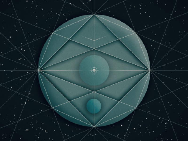Circles geometry wallpaper by Grei on Dribbble