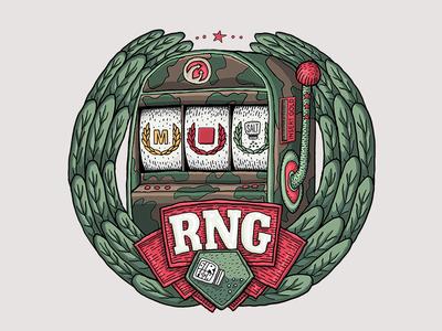 RNG Machine slot machine machine icon twitch sir foch fochrng foch emote rng