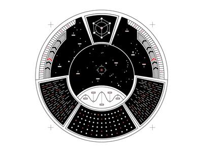 TECHNOLOGY A SPECIES? illustrator illustration design spaceship space code science sciart sci-fi sci fi