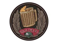 Foch cheers coaster