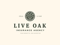 Live Oak logo tree columbia south carolina insurance live oak oak