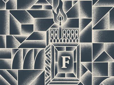 Matchbox box shapes matches geometric f match box matchbox fire match pattern grain