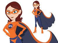 JPS Girl - Look at the detail