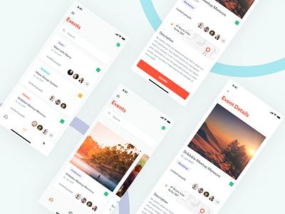 Envts - Event App Exploration mobileapp iosdesign iphonex