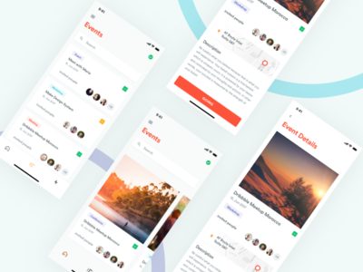 Envts - Event App Exploration mobileapp iosdesign iphonex