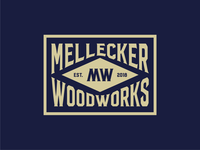 Mellecker Woodworks Diamond Badge