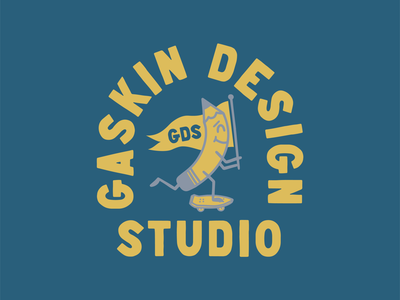 Gaskin Design Studio - Pencil Badge
