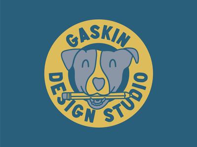 Gaskin Design Studio - Dog Badge