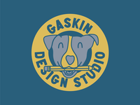 Gaskin Design Studio - Dog Badge