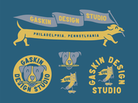Gaskin Design Studio Branding Kit