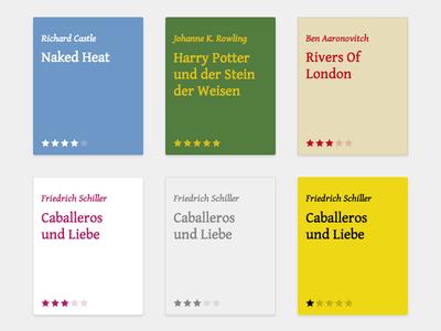 Bunte Bücher books lesetagebuch flat ratings