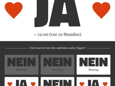 kommtdanielheute.de flask svg responsive website heart