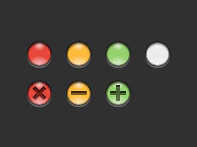 Traffic Lights sketch download freebie ui kit ui mac os x os x