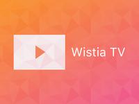 Wistia TV banner
