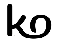 ligature as part of a logotype