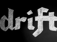Drift rebound - blackletter experimentation