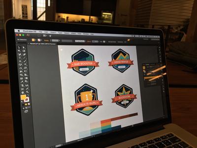 Process - Merit Stickers