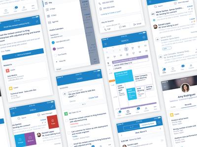 Salesforce Inbox Mobile Design