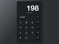 Calc iPhone App