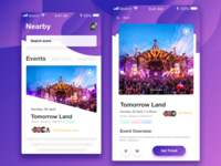 Event Creation Booking Mobile App
