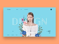 Fashion Ecommerce Landing Page Design