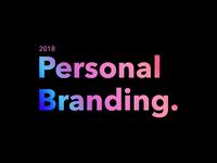Designer Personal Branding - 2018