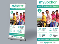 Standee Design / Roll up Banner Design
