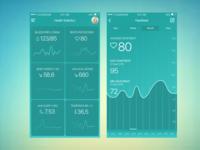 Health Tracker App - Statistics