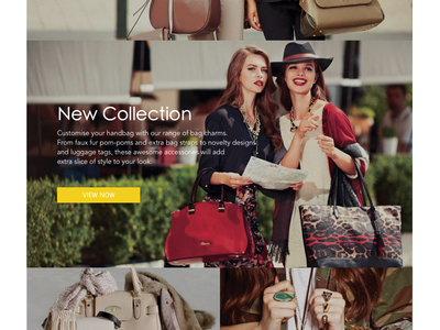 Clothing Store Concept scrolling scroll store minimalism clothes shop fashion products gif homepage website web