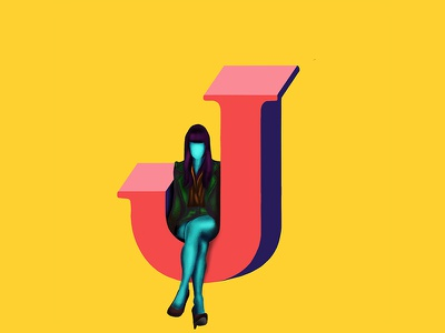 J - 36daysoftype director art direction direction artistique art agency design advertising design marketting advertise 36daysoftype11 36daysoftype2019 36daysoftype jessica walsh