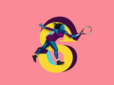 S - 36daysoftype 36daysoftype sports women serena williams tennis serena
