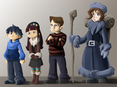 Tangled Pines Character Lineup
