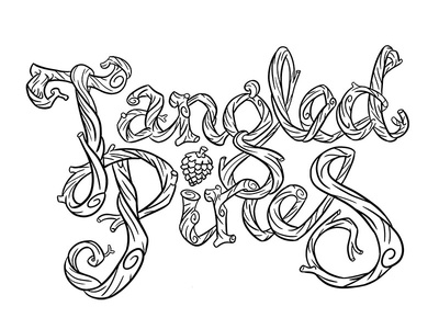 Tangled Pines logo outlines