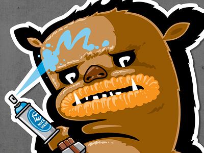 CHEWY kiwie wars fat monster chewy kiwie