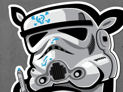 REBEL kiwie wars fat monster rebel stormtrooper kiwie