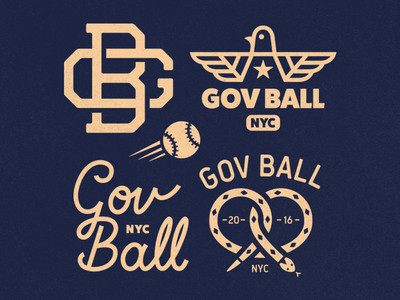 GOV BALL usa america pigeon nyc new york snake type baseball
