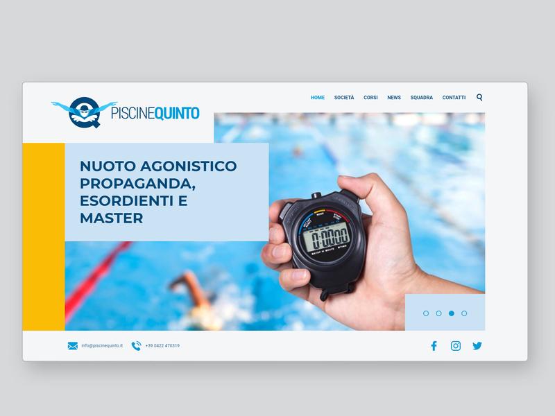 Piscine Quinto Website uidesign uxui colorful responsive responsive web design responsive website responsive design css3 html5 web ui design ui  ux uiux ux ux design ui web design website design webdesign website