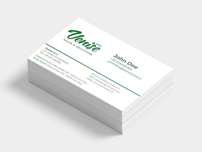 Venise business card