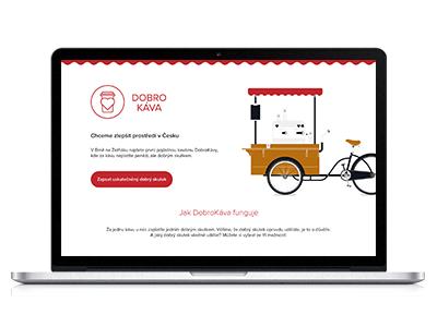 DobroKáva website