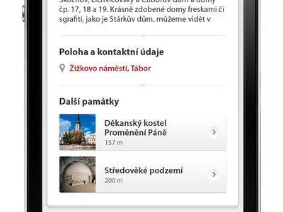 Mobile Guide mobile guide minimal buttons