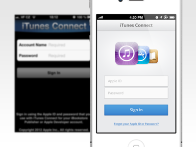 iTunes Connect re–design redesign itunes apple connect appstore ibooks