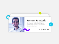 DailyUI Challenge #006 - User Profile