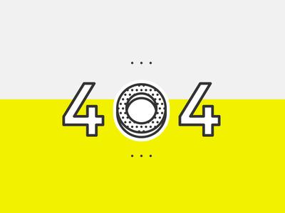 DailyUI Challenge #008 - 404 Page