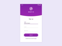 01/100 Daily UI - Sign Up