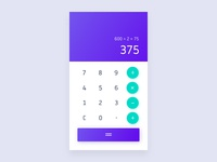 04/100 Daily UI - Calculator