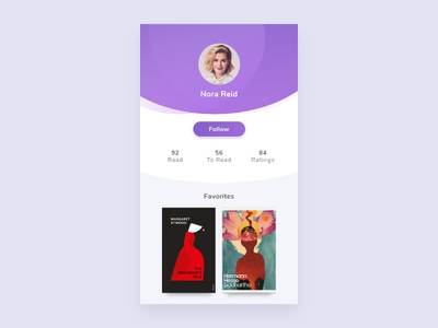 06/100 Daily UI - User Profile ui user profile